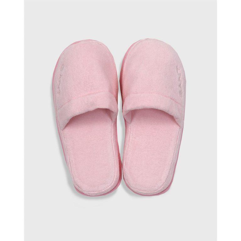Gant Home Premium Velour Slippers Vaaleanpunainen