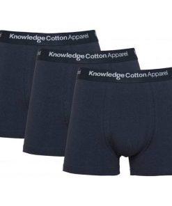 Knowledge 3 Pack Underwear Navy