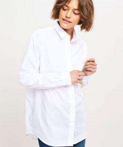 Samose&Samsoe Caico Shirt Valkoinen
