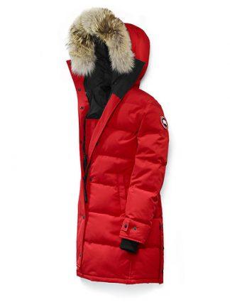 Canada Goose Shelburne Parka red