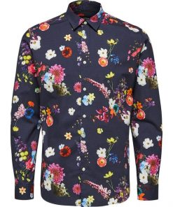 Selected Regjake Shirt Sininen