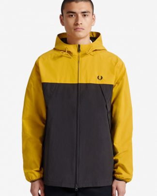 Fred Perry Colour Block Panel Jacket Keltainen