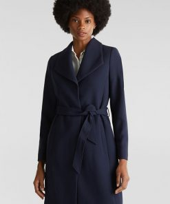 Esprit Coat Navy