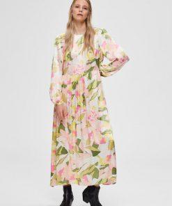 Selected Femme Mola Ankle Dress Rosebloom