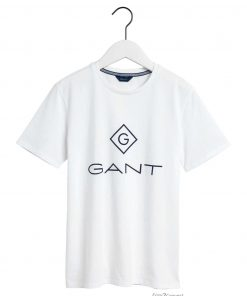 Gant Teens Lock-up T-shirt White