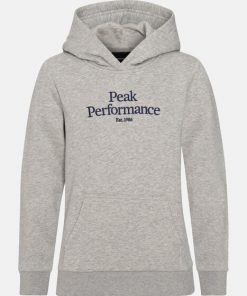 Peak Performance Original Hoodie Junior Grey