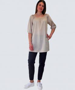 Lille Clothing Sindi Tunic Beige