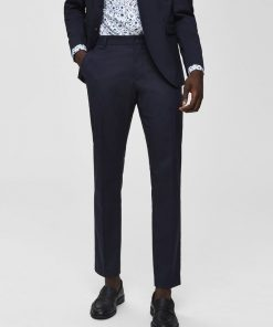 Selected Mylo Logan Trousers Blue