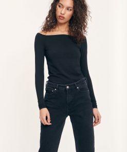 Samsoe & Samsoe Nana Long Sleeve T-shirt Black