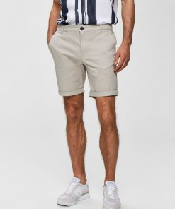 Selected Homme Paris Regular Fit Shorts Moonstruck