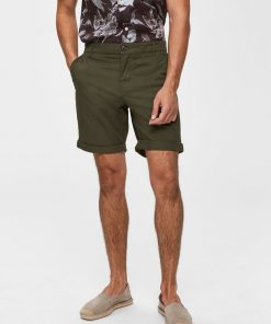 Selected Homme Paris Regular Fit Shorts Green