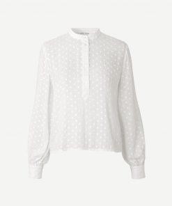 Samsoe & Samsoe Jossie Shirt Blanc de blanc
