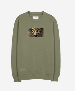 Makia x Von Wright Stare Sweatshirt Green