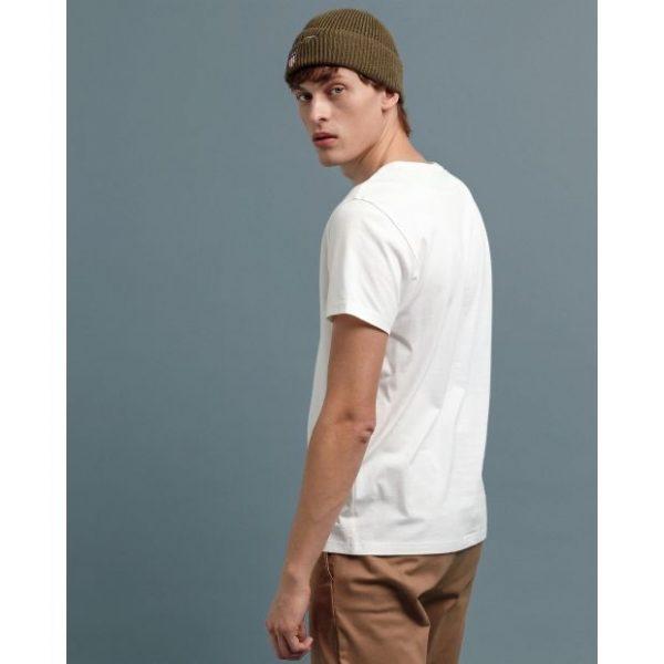 Gant Color Lock-Up T-shirt Eggshell