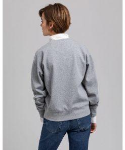 Gant Icon G C-neck Sweater Grey Melange