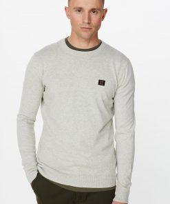 Les Deux Etienne Cashton Knit Grey