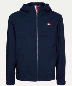 Tommy Hilfiger Hooded Jacket Blue