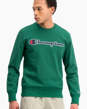 Champion Crewneck Sweatshirt Green