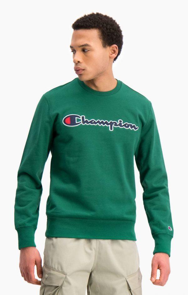 Champion Crewneck Sweatshirt Green