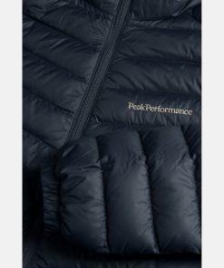 Peak Performance Frost Down Hood Jacket Men Blue Shadow