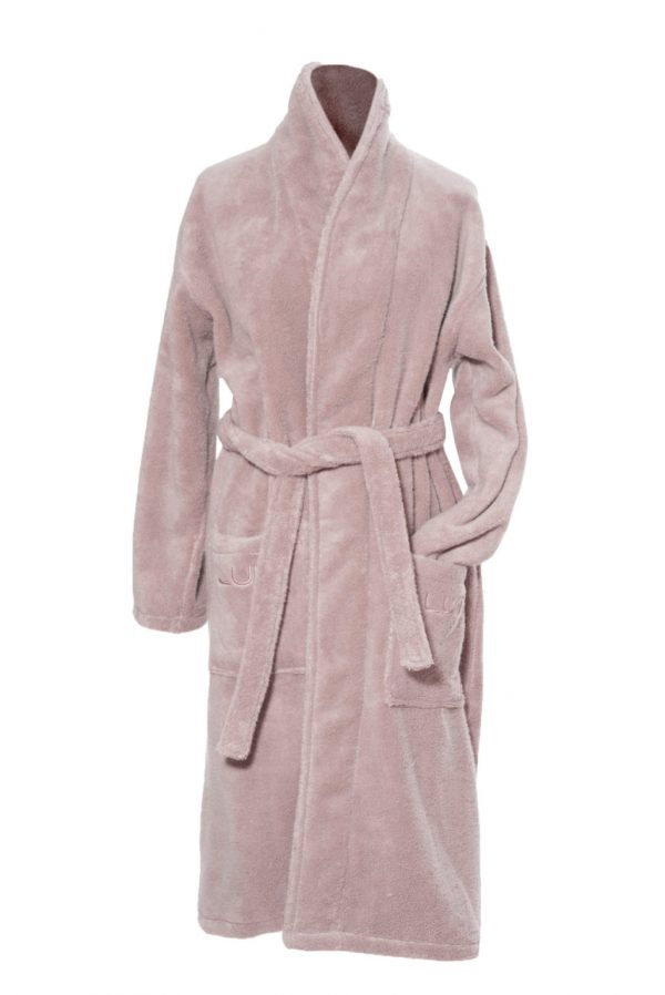 Luin Living Bathrobe Dusty rose