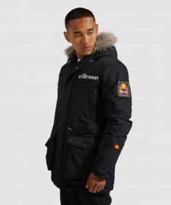 Ellesse Mazzo Parka Jacket Black