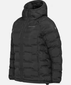 Peak Performance Argon Hood Jacket Women Black
