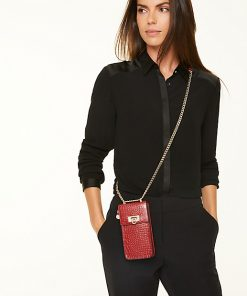 Comma, Phone Pouch Deep Red