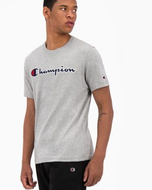 Champion Crewneck T-shirt Light Grey
