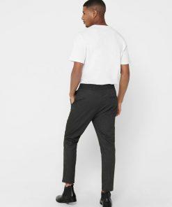 Only & Sons Linus Pants Herringbone Black