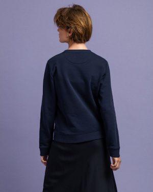 Gant Woman Archive Shield C-Neck Evening Blue