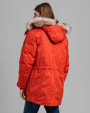 Gant Arctic Down Parka Dark Orange