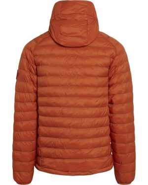 Knowledge Cotton Apparel Eco Active thermore hood Jacket Rust