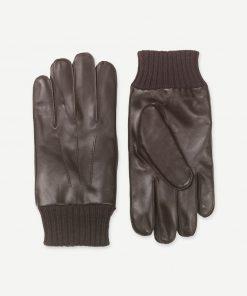 Samsoe & Samsoe Hackney Gloves Dark Brown