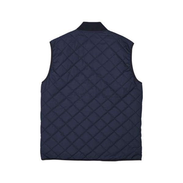 Makia x Rapala Hermit Vest Dark Blue