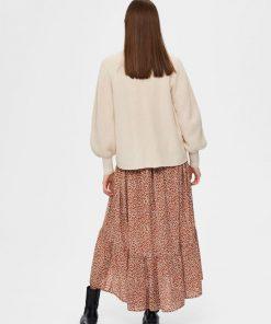 Selected Femme Emmy Knit Cardigan Sandshell
