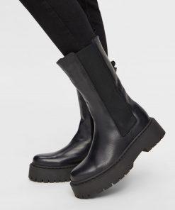 Bianco Biadeb Long Boots Black