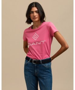 Gant Lock Up T-shirt Chateau Rose