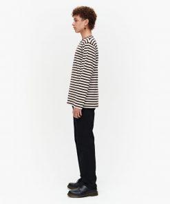 Marimekko Pitkähiha T-Shirt Brown