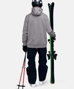 Peak Performance Original Ski Hood Men Grey Melange