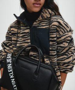 Calvin Klein Top Handle Bag Black