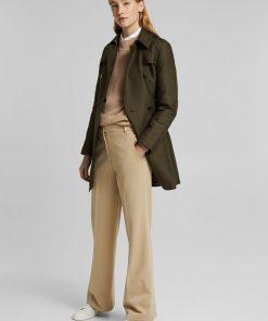 Esprit Trench Jacket Olive Green