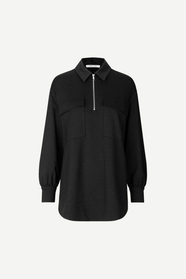 Samsoe &Samsoe Jessy Shirt Black