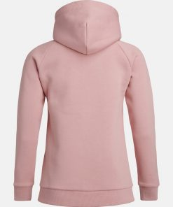 Peak Performance Original Zip Hoodie Women Warm Blush