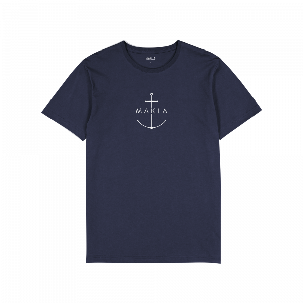 Makia Ankra T-shirt Dark Blue