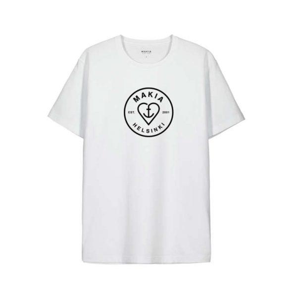 Makia Knot T-shirt White