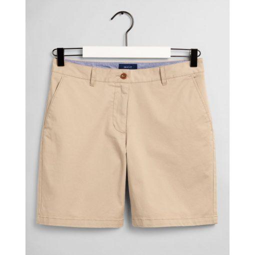 Gant Woman Chino Shorts Dry Sand