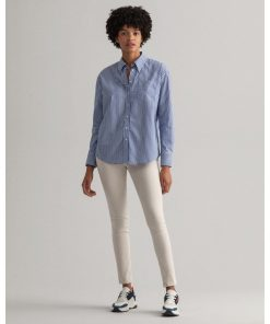 Gant Woman Color Pant Putty