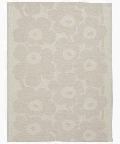Marimekko Pieni Unikko Kitchen Towel Beige