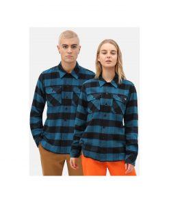 Dickies Sacramento Relaxed Long Sleeve Shirt Blue